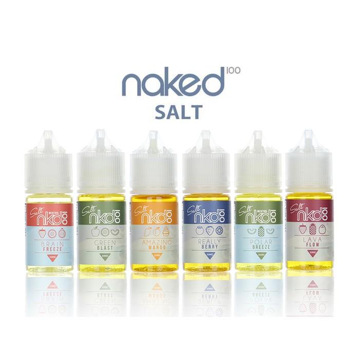 100% Original usa ejuice nkd 100 naked salt salts Full series Eliquid 30ml  | Shopee Malaysia
