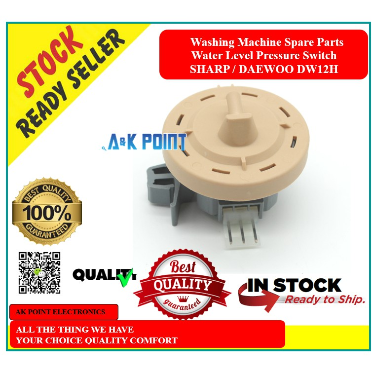 Washing Machine Spare Parts - DW12H Water Level Pressure Switch ( Sharp/Dae )
