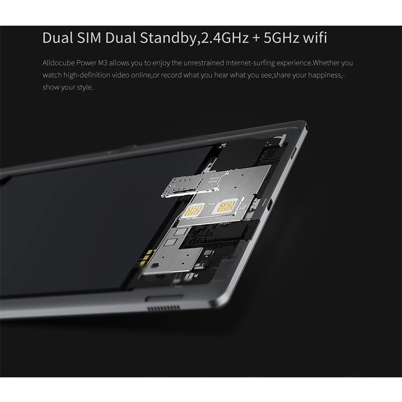 ALLDOCUBE Power M3 4G Phablet 10 1 inch Android 7 0 MTK6753 RAM 2GB