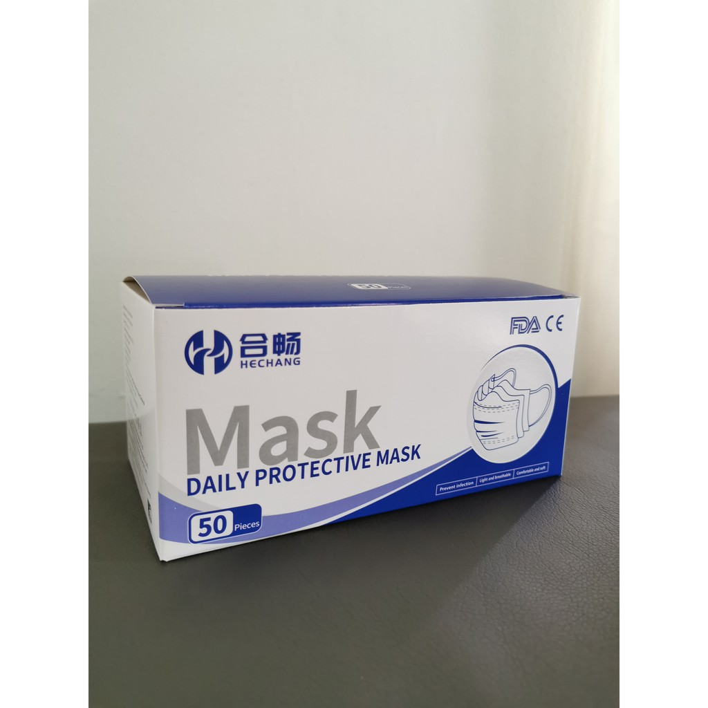 10 pcs / pack 3 Layer Face Mask 1 Pack [Ready Stock]