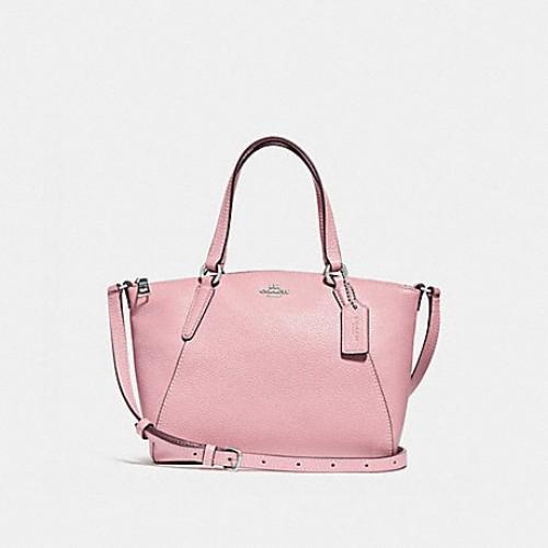 67f531cd5 COACH MINI KELSEY SATCHEL (F57563) SILVER/BRIGHT RED | Shopee Malaysia