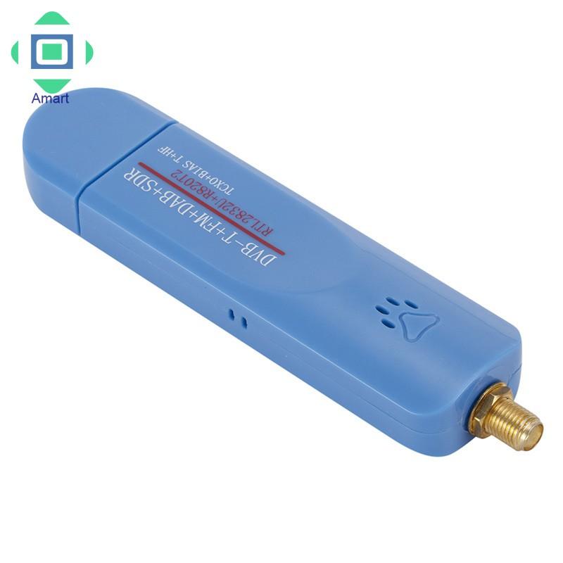 USB2 0 SDR RTL-SDR DVB-T FM RTL2832U TV Tuner Stick Radio Receiver