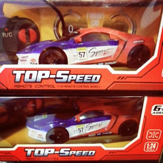 Remote Control 1:24 High Speed Sport Car Vehicle