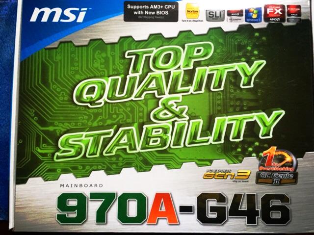 AMD FX 8120 MSI 970A-G46
