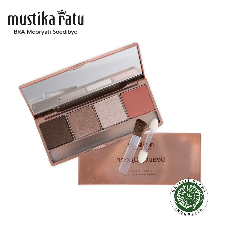 Mustika Ratu Beauty Queen Highly Pigmented Eye Shadow & Blush On 02 - 12gr
