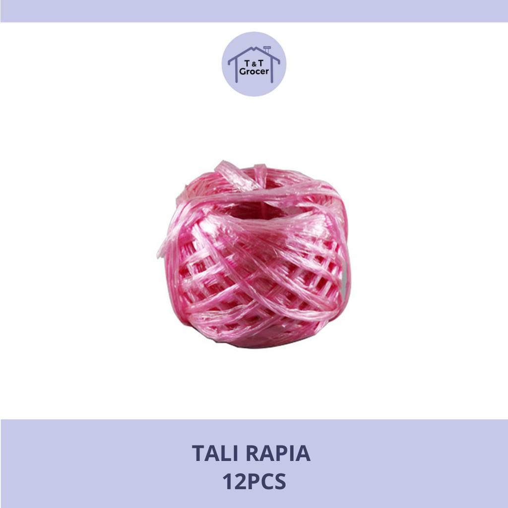 Tali Rafia/ Rafia String 12pcs