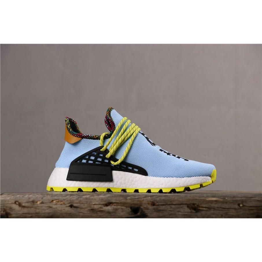 the latest 9c658 8cb3e Adidas Pharrell Williams x Human PW HU HOLI NMD MC Sports Running Shoes for  Men Women