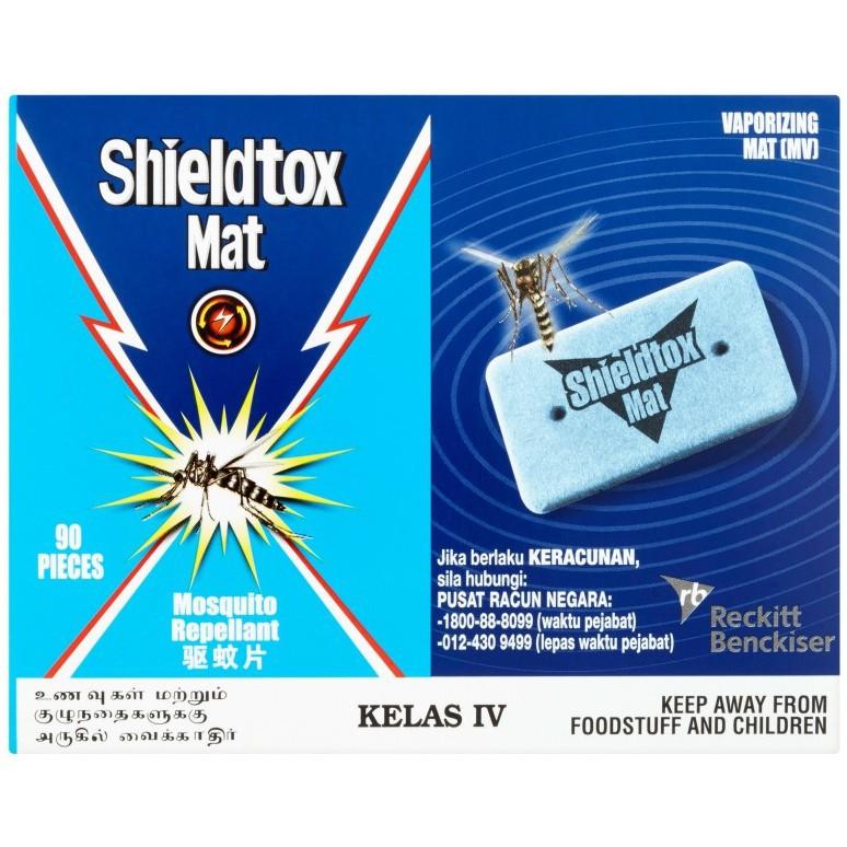 Shieldtox Mat Mosquito Repellant (90 Pcs/84g)