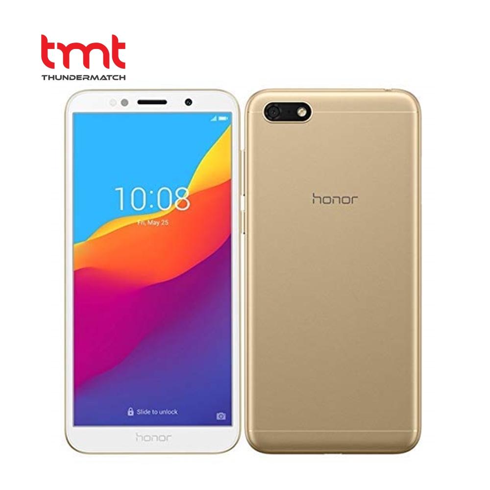"Honor 7S Gold   Mediatek MT6739   5.45""   16GB   2GB   4G LTE Dual SIM   R.Cam 13MP   F.Cam 5MP   Android OS, v8.1"