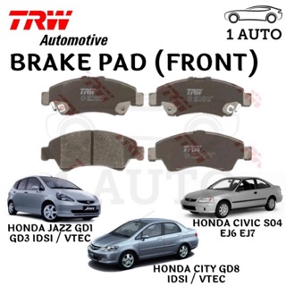 Front Brake Pads Fits Honda Jazz 2008-2018.. All models