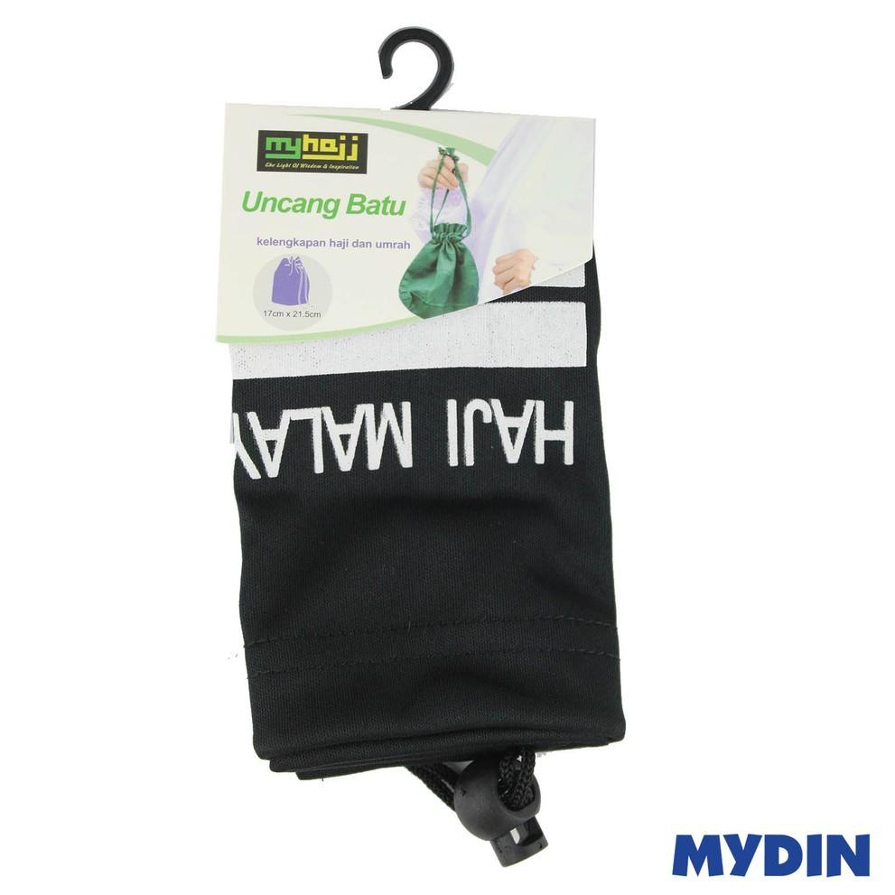"""MyHajj Pouch Stone 8"""" Black HJ-100-01"""