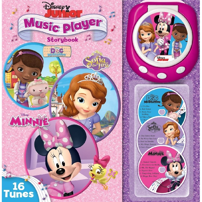 Disney Junior: Music Player Storybook ISBN: 9780794430115 (MPH)