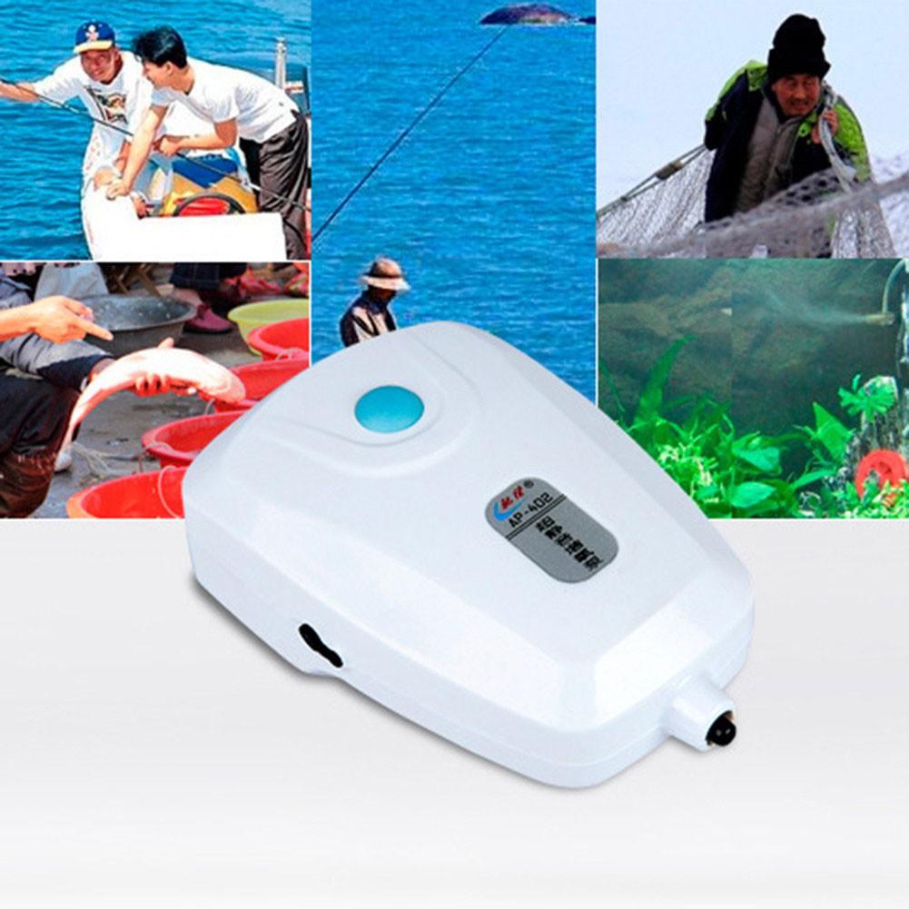 AC DC Dual Use Oxygen Pump for Aquarium & Fish Tank Aquarium Oxygen Pump