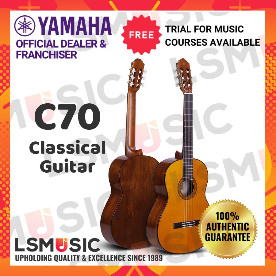 Yamaha Classical Guitar C70 Gitar accoustic guitar Music instrument ( C 70 / Kapok / Acoustic )