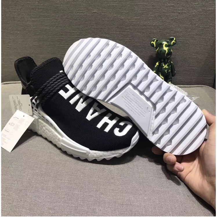 877a8ee8 ProductImage. ProductImage. Ready Stock Adidas PW Human Race NMD PHARRELL  Men/women Running Shoes-Chanel