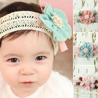 47e9c701bfae Kids Baby Girl Cute Toddler Lace Flower Hair Band Headwear Headband  Accessories