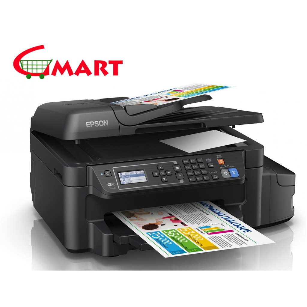 Epson L4160 Wi Fi Duplex All In One Ink Tank Printer Shopee Malaysia Yellow C13t03y400 For L6170