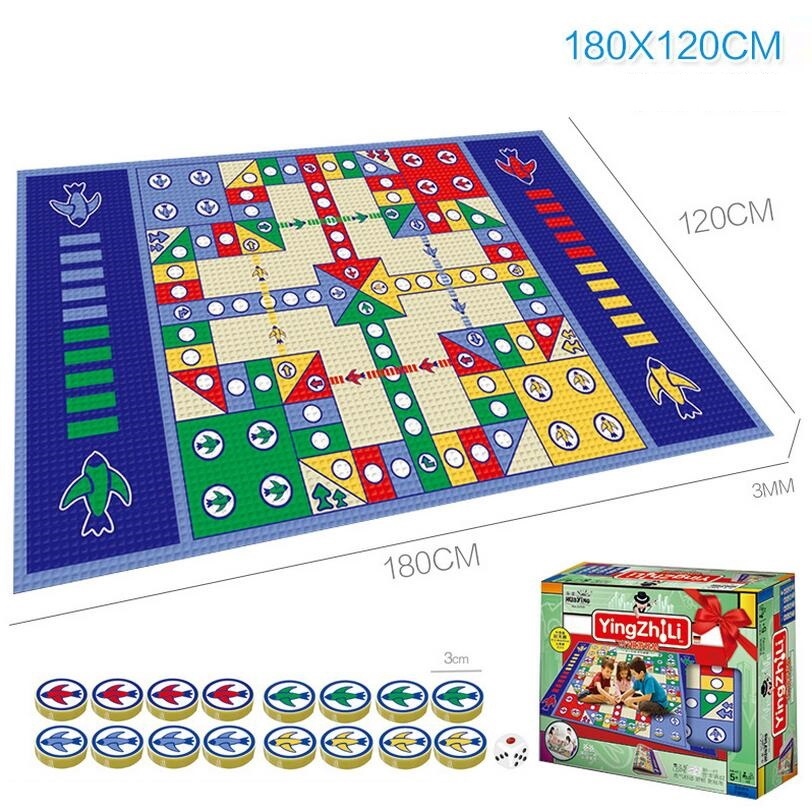 Flying Airplane Carpet Baby Chess Play Rug Game Pad Kid Education Developing Mat
