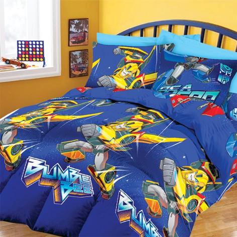 Chester London Transformers 350 Thread Count Queen Comforter Set