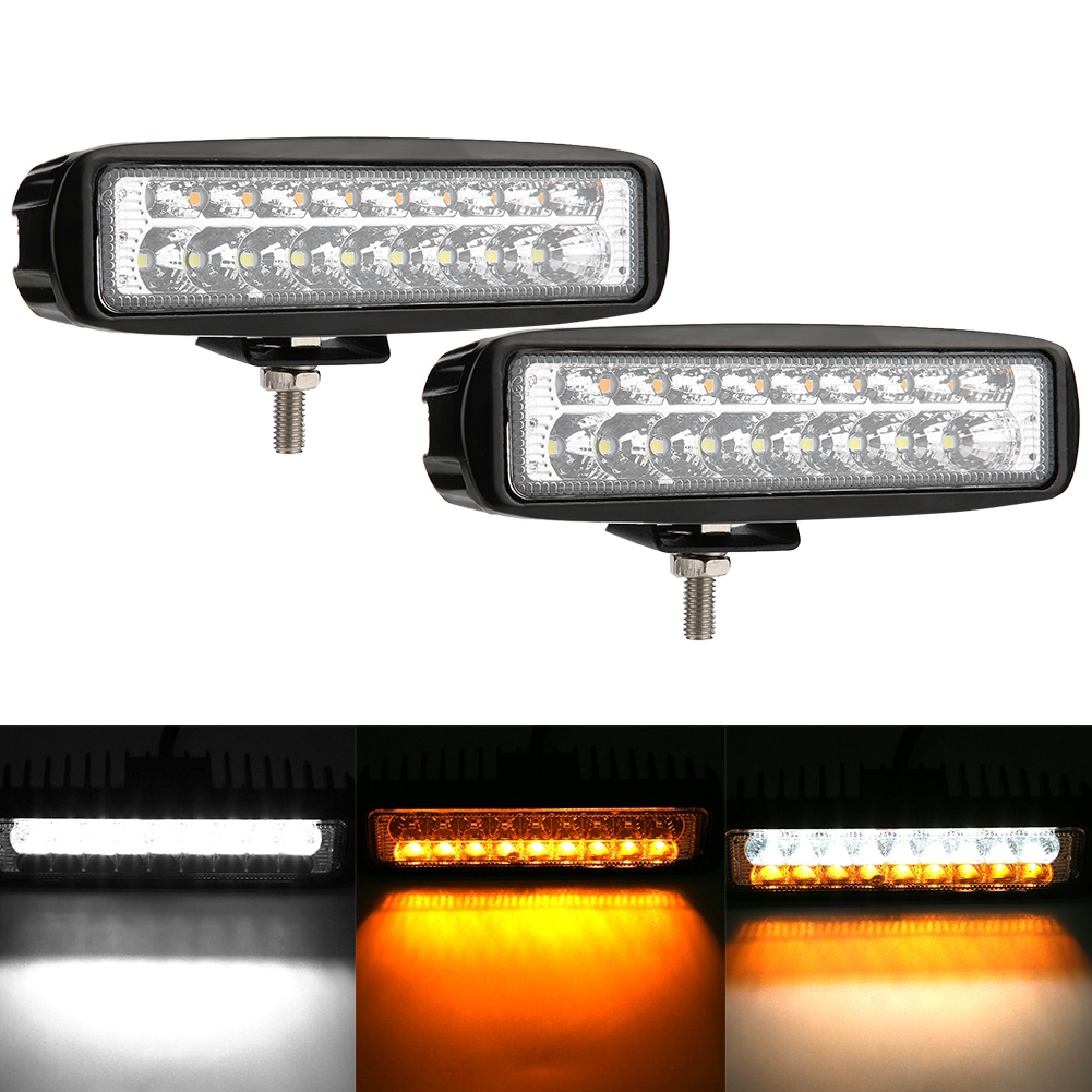 Eagle Eye Light,Cuque 9W 1 Pcs 23mm Amber LED Car Fog DRL Daytime Running Light Reverse Signal Tail Light Yellow 12V 9W