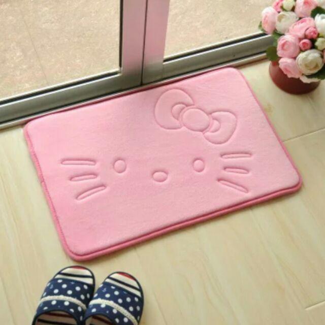 Hello Kitty Cute Square Bedroom Living Room Carpet Floor Mat