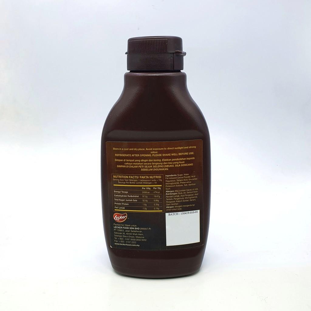 choco jar guna serbuk koko hybrid art Resepi Kek Coklat Topping Nutella Enak dan Mudah