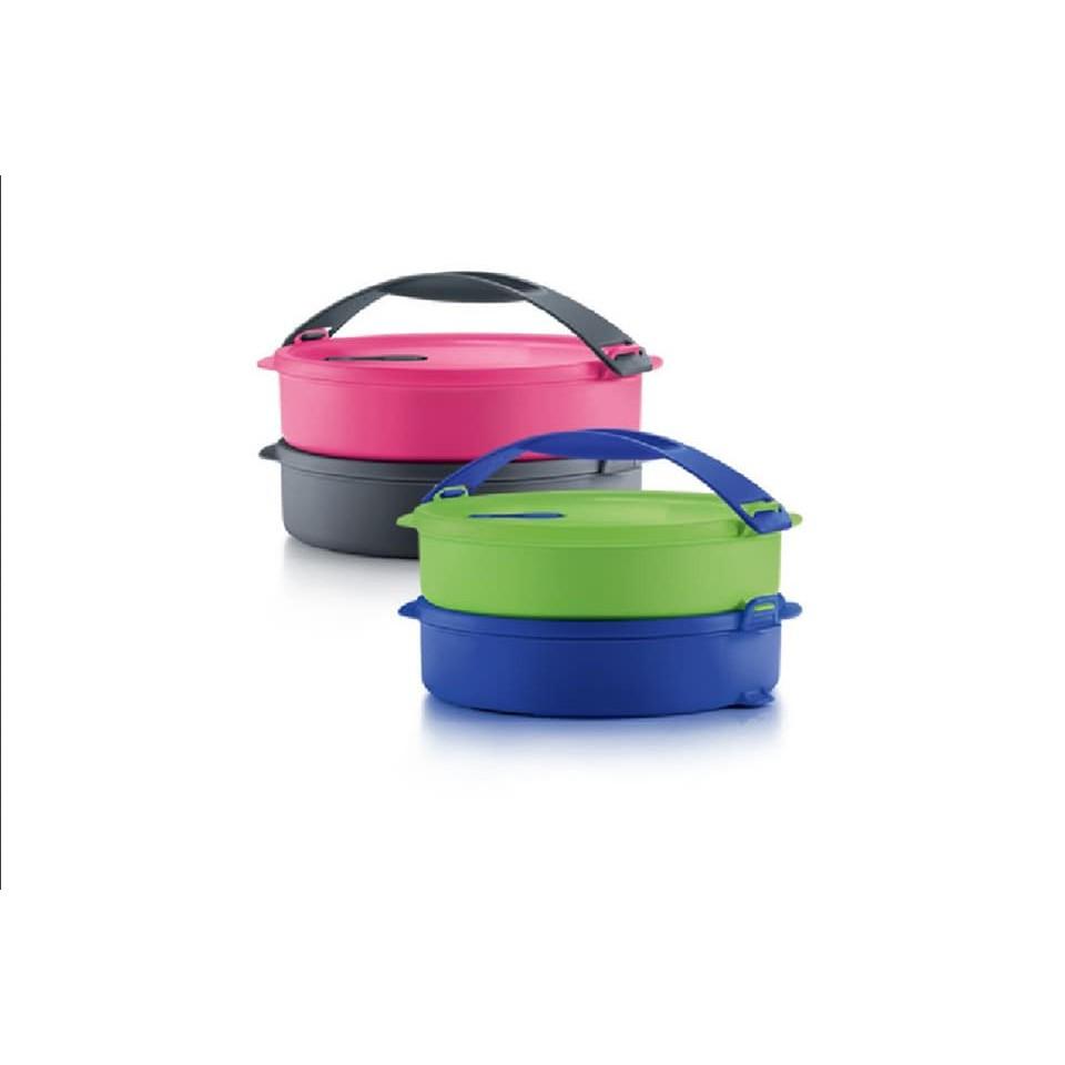 Tupperware Microwaveable Click To Go Mangkuk Tingkat