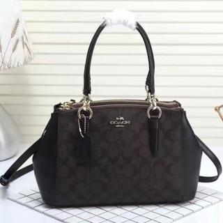 b401c7513d Premium Quality) Coach Novelty Signature Jacquard Tote/Sling Bag ...