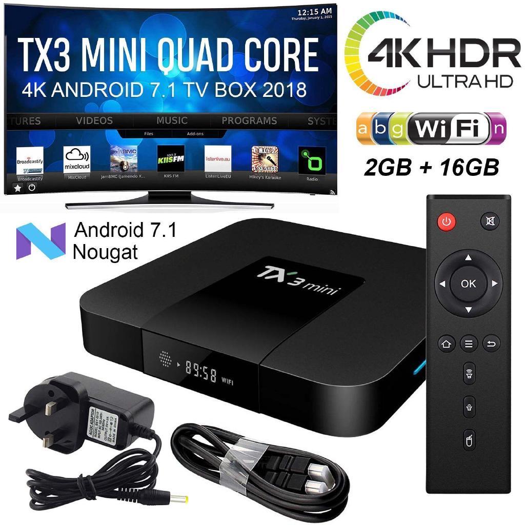 Tanix TX6 Allwinner H6 4K android TV Box 4+32GB/2+16GB dual wifi