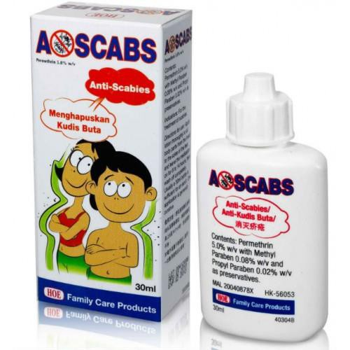 Ascabs Anti-Scabies Lotion 30ml Kudis Buta Treatment