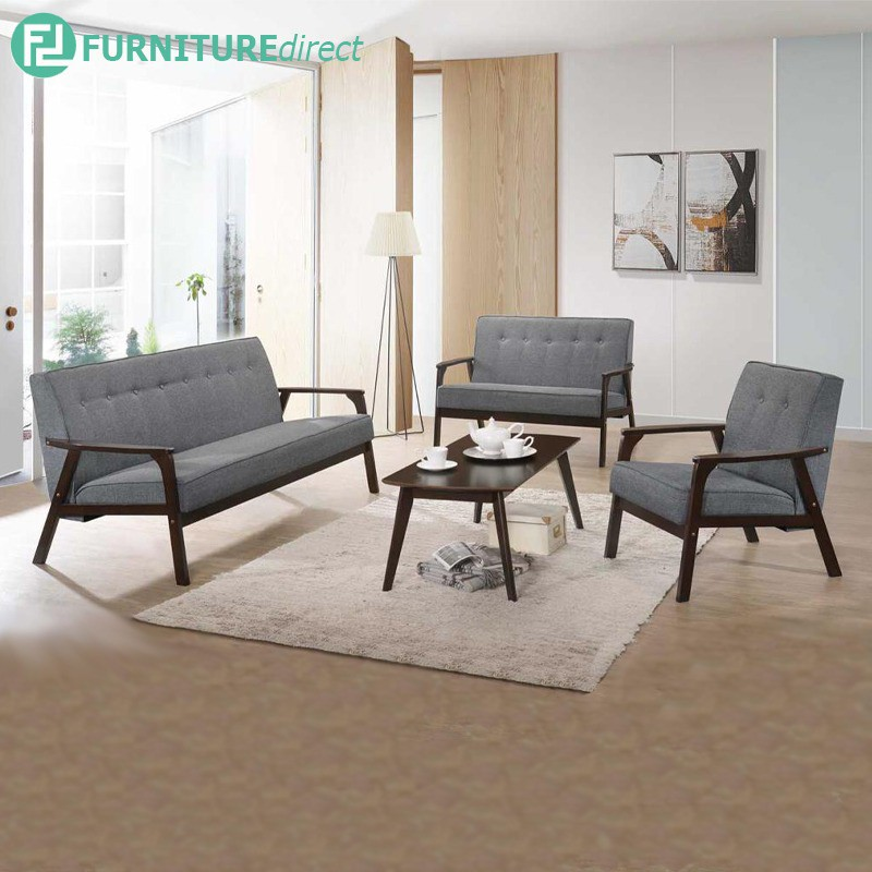 Furniture Direct MORRIS wooden sofa set with free coffee table