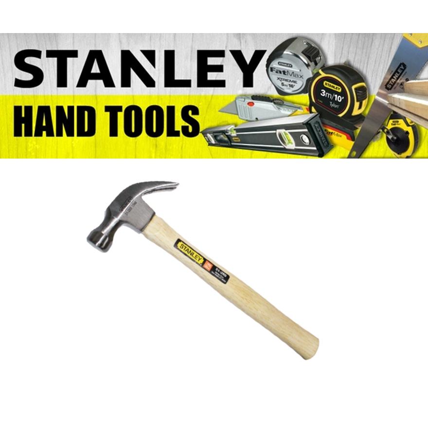 STANLEY WOOD HANDLE NAIL  HAMMER 51-373 51-393 HEAVY DUTY  STRIKING STRUCK TOOL