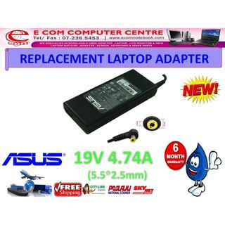 Laptop Power Adapter Charger For Asus A53Ta W2000Jb F6Ve A7K X45U Z92T A45N