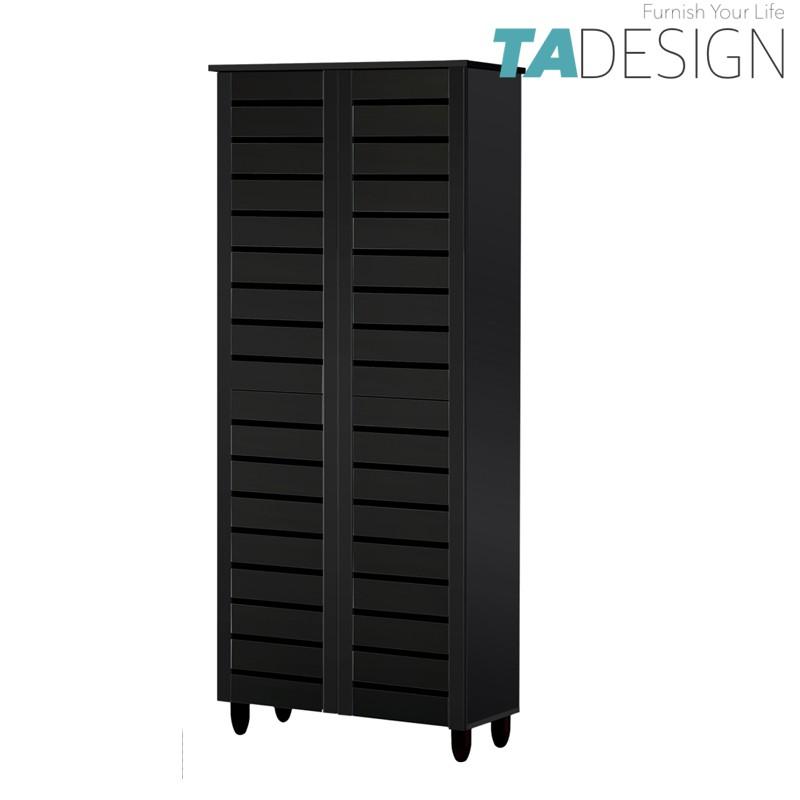 Furniture Direct good ventilation door high wooden shoe rack cabinet/ rak kasut/ rak kasut kayu