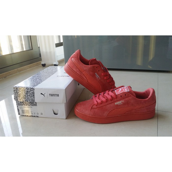 authentic Puma Suede Classic Bboy all red men women sport running shoe size36 44