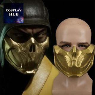 Ready Stock Mortal Kombat 11 Mask Face Mask Scorpion Mask Headgear