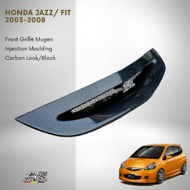 Honda Jazz Fit 2003 2008 Front Grille Mugen Injection Material