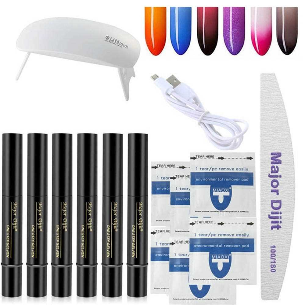 Major Dijit 1 Set Nail Art Tools Manicure Tool Kit (4)