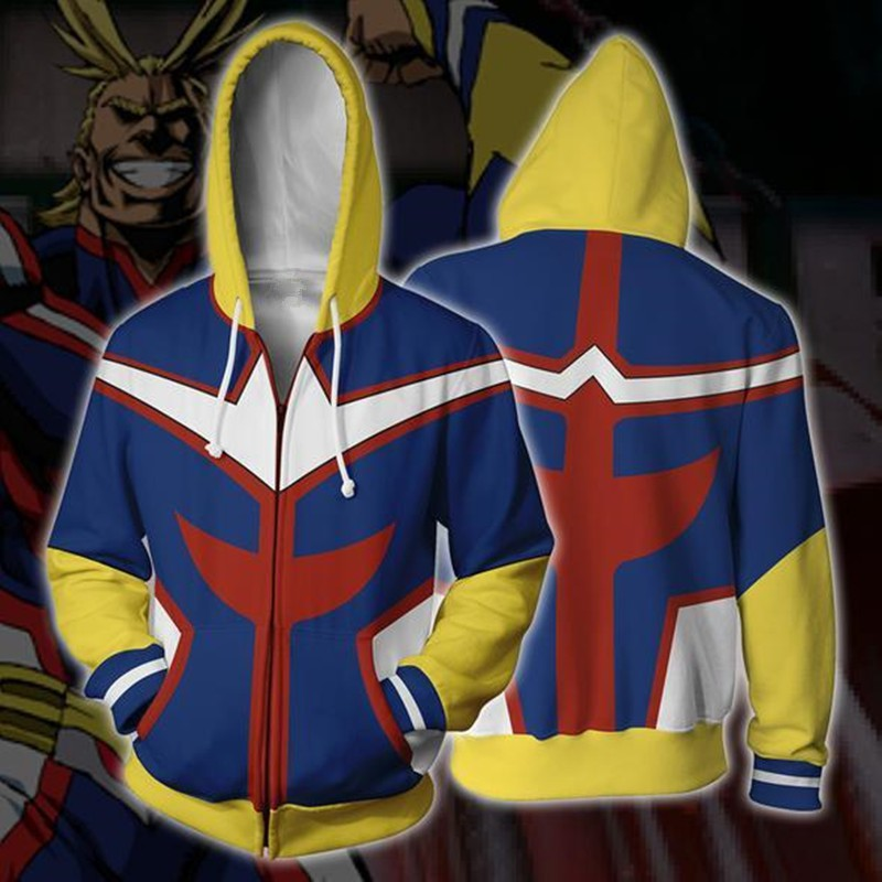 330e9f83d My Hero Academia Oummet Cosplay 3d Sweater Hooded Long Sleeve | Shopee  Malaysia