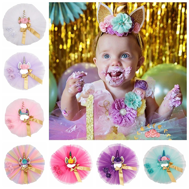 Flower Girl Kid Toddler Baby Princess Party Pageant Wedding Tulle Tutu Dress k66