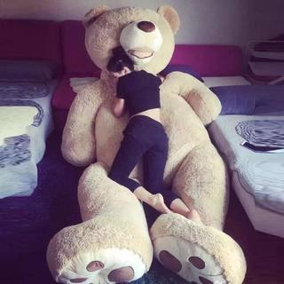Giant Big USA Teddy Bear Plush Dolls Stuffed Toy Girlfriend Birthday Gift Child