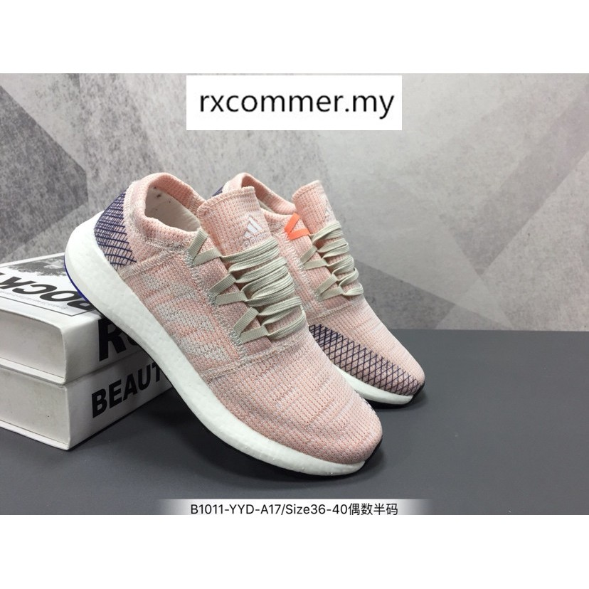 buy popular 68b51 0f3bf Adidas Pure Boost Go sneakers women s running shoes 36-40   Shopee Malaysia