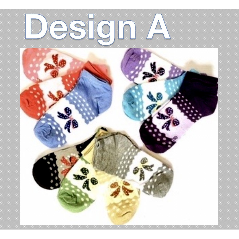 Fashion Women Girl Short Cotton Socks Creative Design Soft Sports Casual Comfortable Ankle Sock