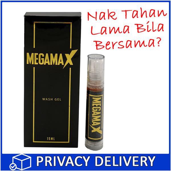 Megamax Men Gel Lelaki 15ml