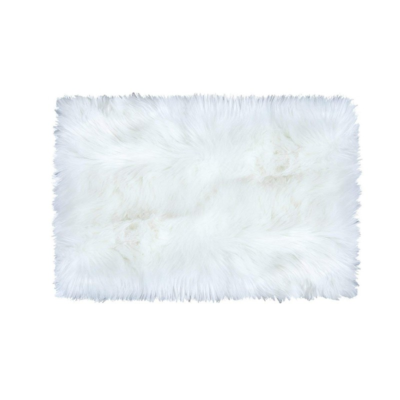 Super Soft Faux Fur Sheepskin Area Rug