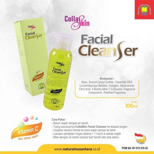 Colla Skin Gold Facial Cleanser Original Nasa