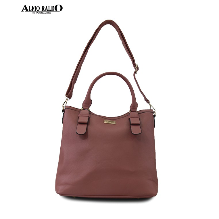 AR by Alfio Raldo Top Handled Tote Bag
