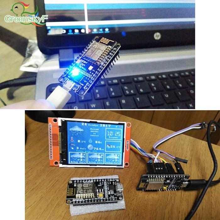 GS NodeMcu Development Board Esp8266 12e Wifi Ch340 V3 Usb Esp12 Esp-12 Modu