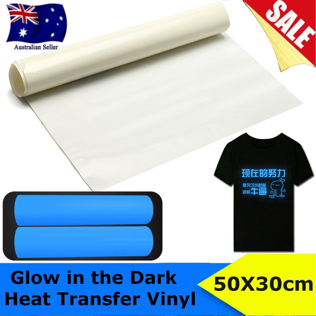 45 X 20 Glow In The Dark T Shirt Heat Transfer Vinyl Garment