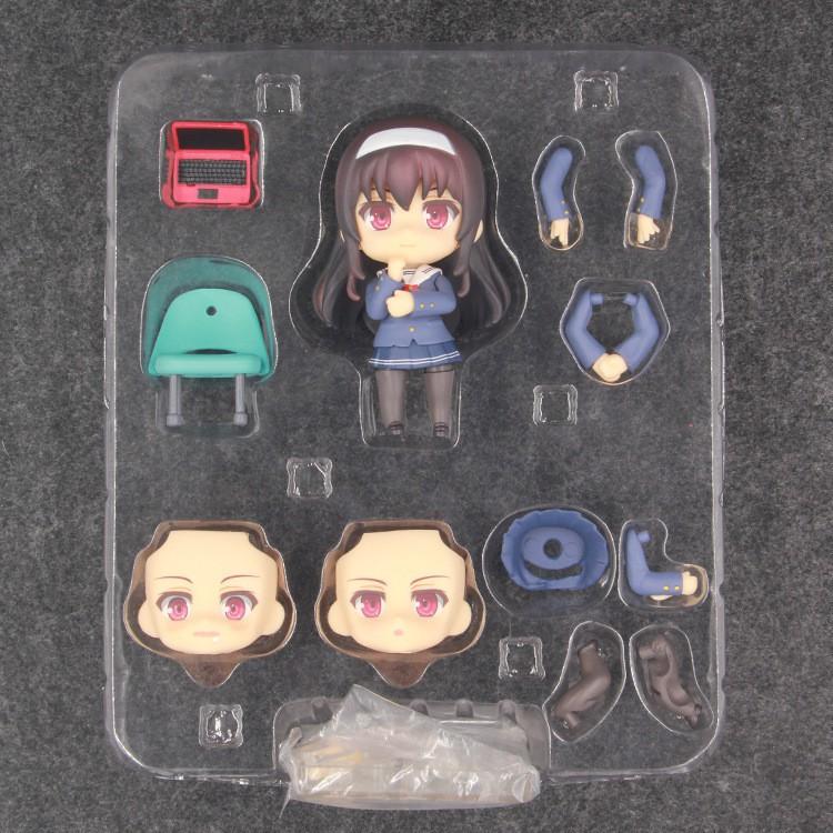Nendoroid 738 Saenai Heroine No Sodatekata Kasumigaoka Utaha PVC Figure No Box